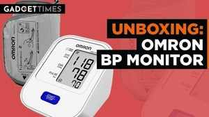 Omron BP Monitor Unboxing | Gadget Times