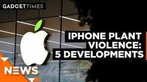 Iphone plant violence: Apple Impacted