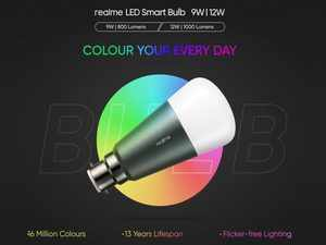 Realme Smart Bulb launched in India in 9W and 12W variants at starting price of Rs 799