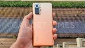 Redmi Note 10 Pro Max Hands-On Photos