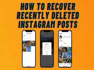 How to recover recently deleted Instagram posts
