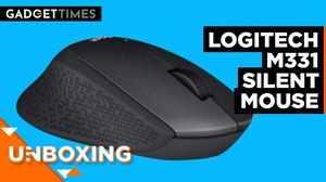 Logitech M331 Silent Wireless Mouse Unboxing | Gadget Times