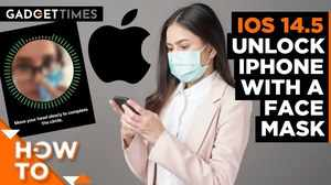 iOS 14.5 Update: Unlock iPhone with a Face Mask