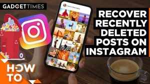How to recover recently deleted posts on Instagram?