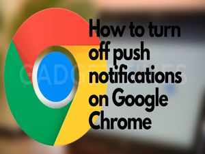 How to turn off push notifications on Google Chrome