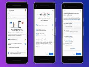 How to auto-delete your location history, Google search, voice and YouTube activity data