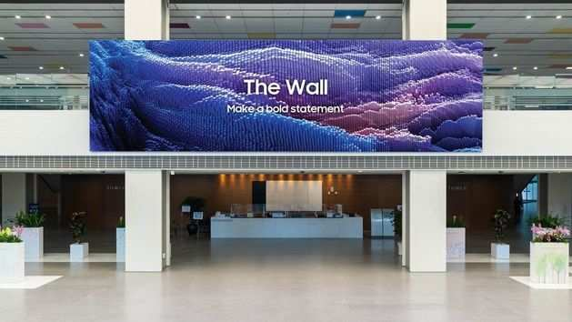 Samsung launches its behemoth, a 1000 inch display, The Wall 2021, globally