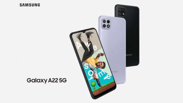 Samsung Galaxy A22 5G with Dimensity 700 SoC and 90Hz display launched in India at Rs. 19,999