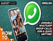 You can now join ongoing WhatsApp group calls even after they've started
