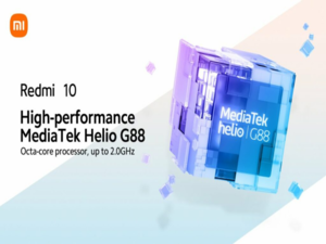 Redmi 10 confirmed to feature the new Helio G88 chipset
