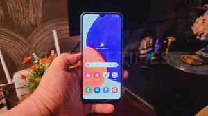 Samsung Galaxy A22 5G Hands-On Photos