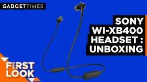 Sony WI-XB400 Headset   Unboxing & First Impressions