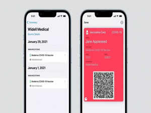 Apple brings feature to add COVID-19 vaccination status card to wallet with iOS 15 update