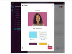 Slack Clips feature now allows users to record and send short video, audio messages
