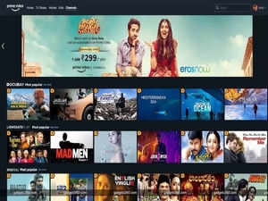 Amazon launches Prime Video Channels bundling service for Streaming apps in India
