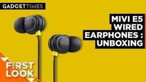 Mivi E5 Wired Earphone FL   Unboxing & First Impression