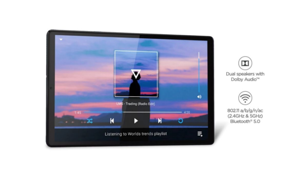 Lenovo Tab K10 arrives in India with 7,500mAh battery, Active Pen Stylus support